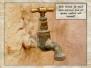 Actie voor de waterput